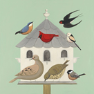 Dovecote II by Catriona Hall