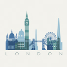 A View of London by Kristine Hegre