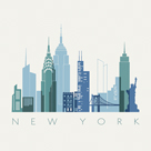 A View of New York by Kristine Hegre