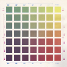 Photo Offset Colour Chart by The Drammis Collection