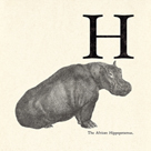 Animal Alphabet - H by The Vintage Collection