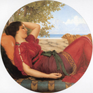 In Realms of Fantasy by John William Godward