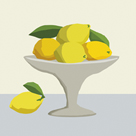 Modern Still - Lemons by Mark Chandon
