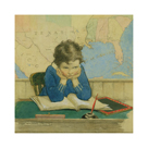 Back to School Again by Jessie Willcox Smith