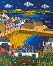 Summer at Mousehole by Brian Pollard