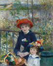 On the Terrace by Pierre Auguste Renoir