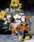 Mixed Flowers in an Earthenware Pot, c1869 by Pierre Auguste Renoir