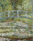 Bridge over a Pond of Water Lilies, 1899 by Claude Monet