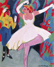 Russian Dancer by Ernst Ludwig Kirchner