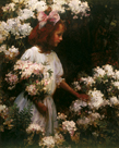 Garden Walk by Charles Courtney Curran