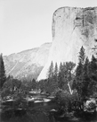 El Capitain - 3600 ft., Yosemite by Carleton E Watkins