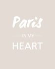Paris is my Heart - Fawn by Sasha Blake