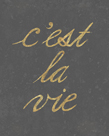 C'est La Vie - Simple by Lottie Fontaine