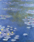 Water Lilies At Giverny by Claude Monet