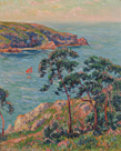 Cotes de Belon, Finistere by Henry Moret