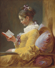 A Young Girl Reading, c.1770 by Jean Honore Fragonard