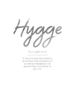 Details - Hygge by Joni Whyte