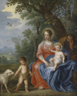 The Holy Family with John the Baptist and the Lamb by Jan Brueghel the Younger