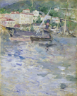 Le Port de Nice by Berthe Morisot