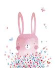 Spring Bunny by Clara Wells
