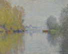 Autumn on the Seine, Argenteuil, 1873 by Claude Monet