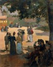 Sunlight And Shade by Sir John Lavery