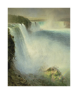Niagara Falls, 1867 by Frederic Edwin Church