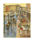 The Grand Canal by Maurice Prendergast