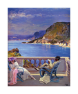 On The Riviera by Sir John Lavery
