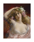Portrait of a Woman by Emile Vernon