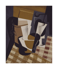 Wine Jug and Glass by Juan Gris