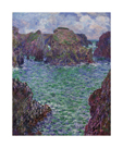 Port-Goulphar, Belle-Ile, 1887 by Claude Monet