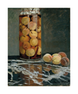Jar of Peaches, 1866 by Claude Monet
