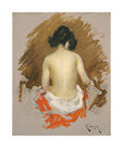 Nude, c.1901 by William Merritt Chase