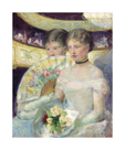 The Loge, c.1878-1880 by Mary Stevenson Cassatt