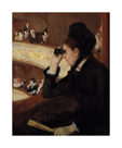 In the Loge, 1878 by Mary Stevenson Cassatt