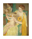 Mother and Child, c.1905 by Mary Stevenson Cassatt