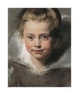 Portrait Of Clara Serena Rubens, c.1616 by Sir Peter Paul Rubens