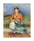 Algerian Girl by Pierre Auguste Renoir