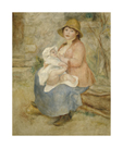 Maternity by Pierre Auguste Renoir