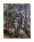 Pines and Rocks, c.1897 by Paul Cezanne