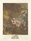 The Happy Hazards of the Swing by Jean Honore Fragonard