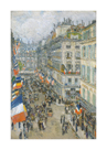 July Fourteenth, Rue Daunou, 1910 by Frederick Childe Hassam