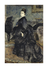 Portrait of a Woman (mme. Georges Hartmann) by Pierre Auguste Renoir