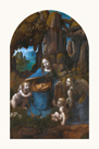 Virgin of the Rocks, 1495 - 1508 by Leonardo da Vinci