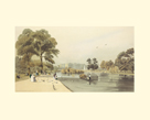 Buckingham Palace from St James's Park by Thomas Shotter Boys