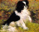Tama, The Japanese Dog by Pierre Auguste Renoir