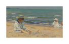 On The Beach, Lake Erie by Charles C Curran