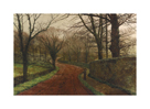 An Autumnal Day, Stapleton Park by John Atkinson Grimshaw