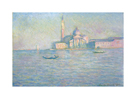 The Church of San Giorgio Maggiore, Venice, 1908 by Claude Monet
